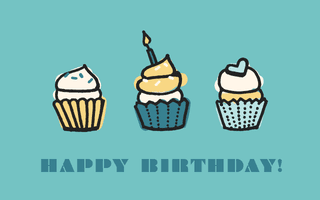 gift card - cupcakes